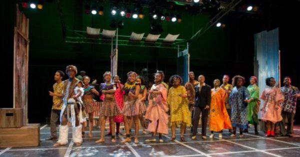 Review Sarafina At Howard University Dcmetrotheaterarts Howard University Theatre Arts Metro Theatre