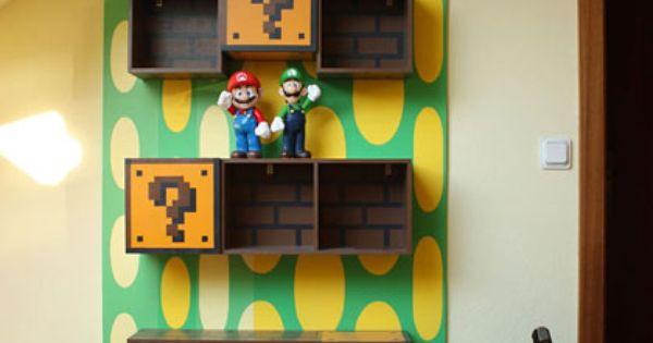 Tag Re Mario D Co Biblioth Ques Pinterest Gar Ons