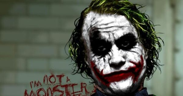 Im not a monster. Im just ahead of the curve. The joker ...
