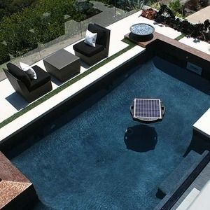 Brand New Solar Powered Floating Pool Pump Filter System Pool Designs Swimming Pools Small Pool Design