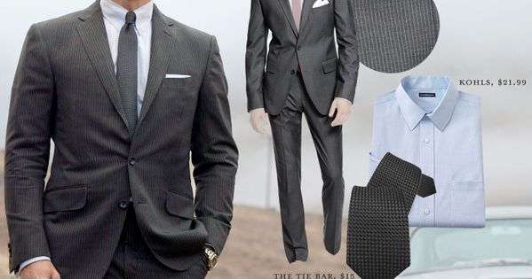 #JamesBond Skyfall look for guys on a budget!