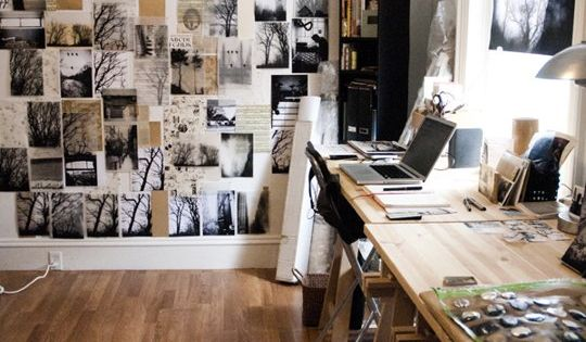 Concept Artists Offices Home Graphic Small Space
