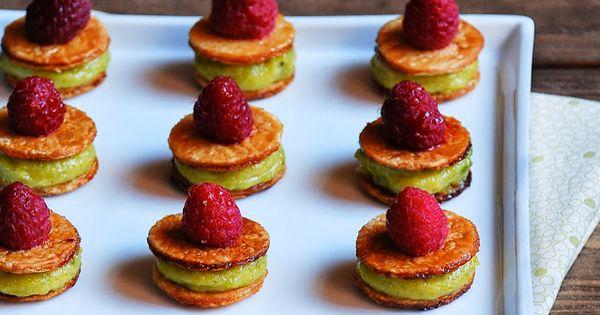 Pistachios, Raspberries and Pistachio cream on Pinterest