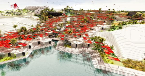 University campus masterplan mumbai india education for Gis for landscape architects