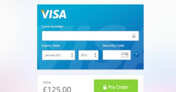 Credit Card Box V2 Web App Design App Design Inspiration App