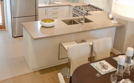 5 ideas para distribuir y decorar una cocina rectangular - Decoracion para cocinas pequenas ...