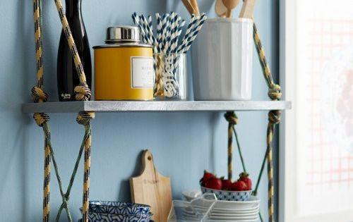 Como hacer estantes caseros con cuerdas estanter as - Hacer estanteria casera ...