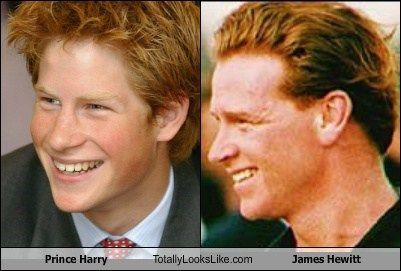 Prince Harry Totally Looks Like James Hewitt James Hewitt Prince Harry James Hewitt Prince Harry Father