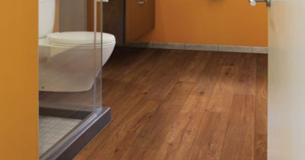 Flood Proof Flooring In The Bath These Wood Look Vinyl
