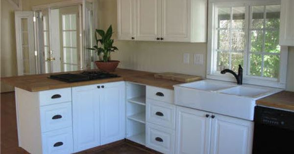 Beautifully updated mobile home kitchen find this home on for Updated kitchen remodels
