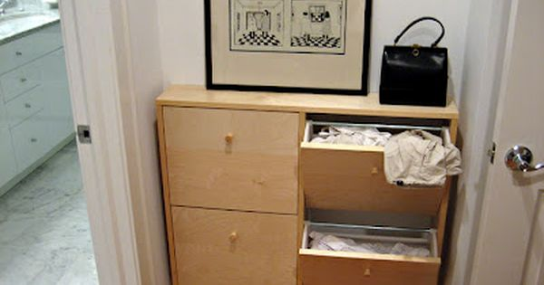 Using Ikea Shoe Racks For Inside Your Mudroom As Space Saving Laundry Hampers Can Use Paint And Stencil A Pretty Ikea Storage Laundry Hamper Ikea Shoe Cabinet