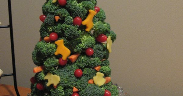 Vegetable Xmas Tree
