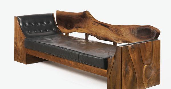 Philip Powell Walnut Sofa Natural Wood Pinterest
