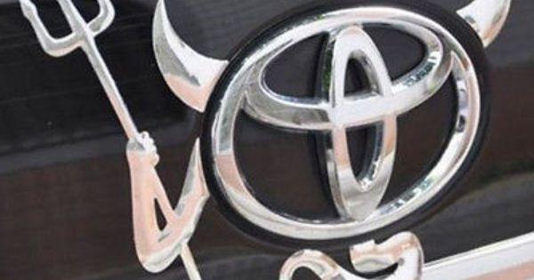 CHROME 3D Devil Demon Decal Sticker Car Emblem logo