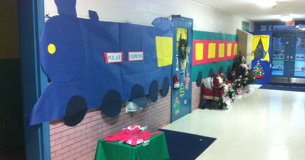 Polar Express Day- My dad always reads to the whole grade level.