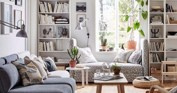 Catalogue ikea 10 inspirations copier les fenetres - Ikea inspiration salon ...