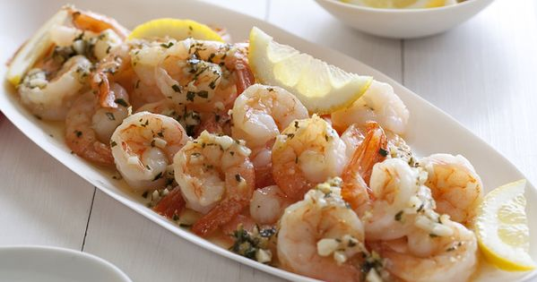 Shrimp Scampi from FoodNetwork.com....made this for dinner tonight with couscous and green