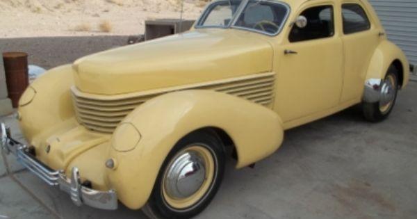 1936 cord 810 4 door sedan motor city girl pinterest for Cord motor car for sale