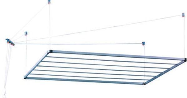 Tendedero techo aluminio 140 tendederos de ropa en - Tendedero de jardin ...