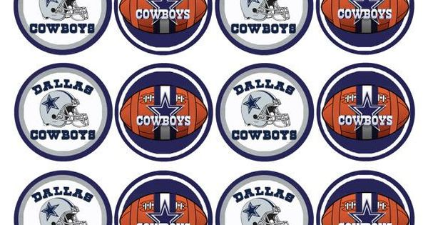 Nfl Team Cupcake Toppers Google Search Clipart