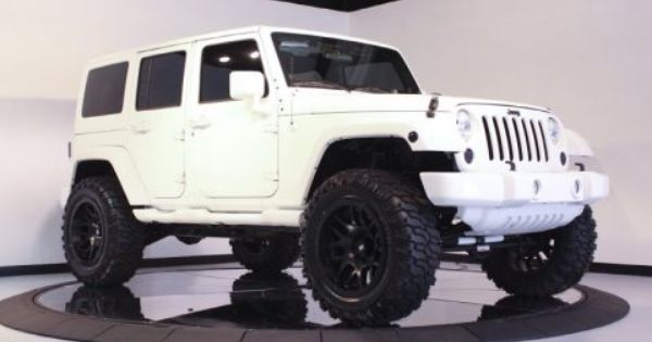 My dream vehicle jeep wrangler limited all white with ...