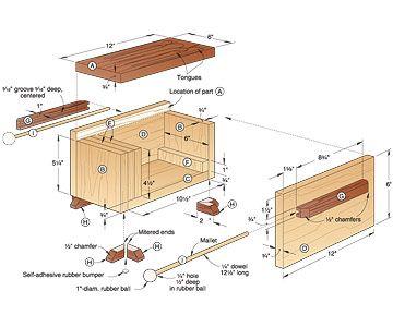 Tone Of Fun Tongue Drum Woodworking Plan Woodworking Plan Wood Working Gifts Woodworking Patterns