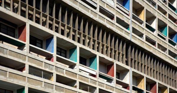 1946 1952 unite d 39 habitation apartment block in for Type d habitation en france