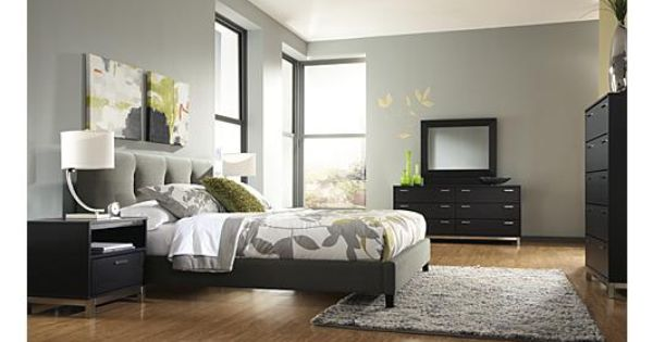 Masterton Upholstered Bedroom Set Love The Contemporary