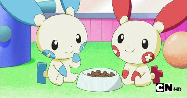 Day 7 plusle minun is the most adorable pokemon - The most adorable pokemon ...