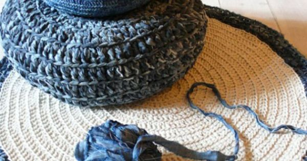 kissenh llen aus jeans kissenbez ge gestrickt diy pinterest. Black Bedroom Furniture Sets. Home Design Ideas