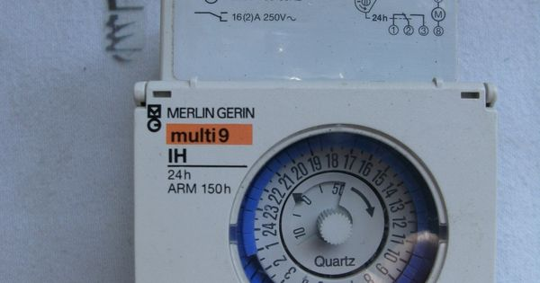 Merlin Gerin 16 2 Amp 24 Hour Timer Switch 230v Arm 150h
