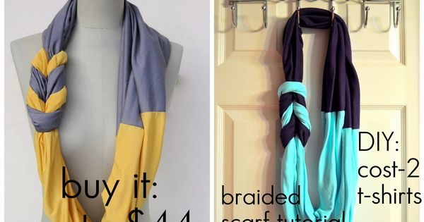 DIY Tutorial: DIY Infinity Scarf / Braided scarf tutorial - Bead&Cord