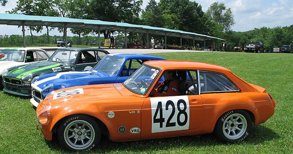 Headlight Covers Remind Me Of An Aston Mgb Gt