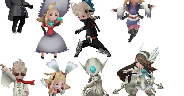 Game Character Design Career : Bravely default jobs i still haven t beaten this game