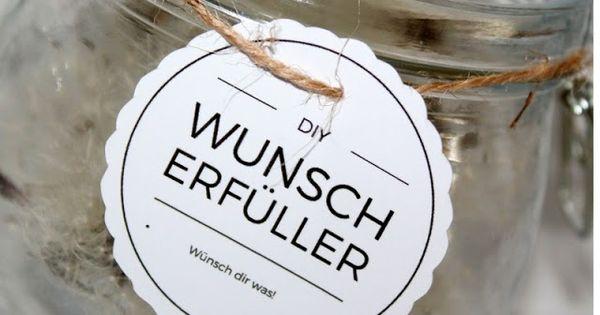 diy wunscherf ller pusteblume free printable. Black Bedroom Furniture Sets. Home Design Ideas