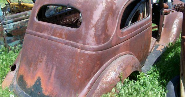 1936 ford 2 door slant back cool rusty cars pinterest for 1936 ford 2 door slant back
