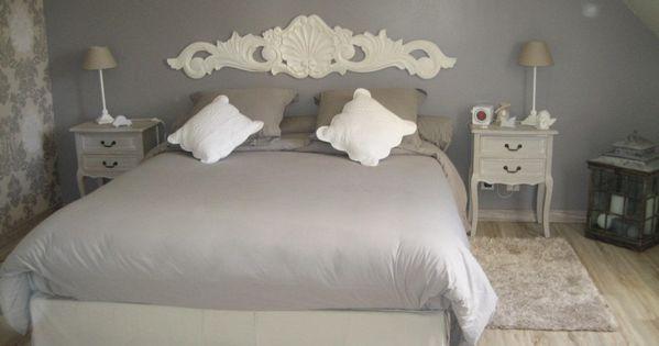 deco chambre adulte gris chambre pinterest deco chambre gris et chambre mansard e. Black Bedroom Furniture Sets. Home Design Ideas