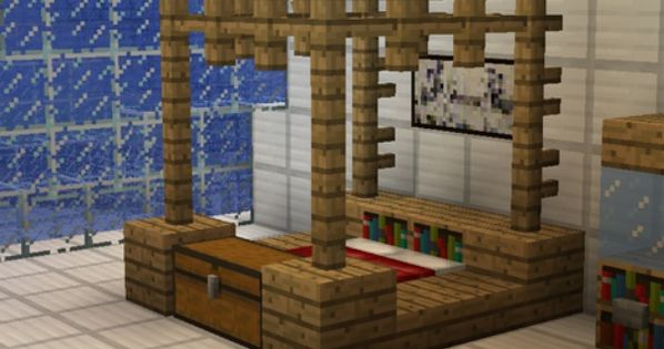 That would be cool if that was real but not as minecrafty for Bed decoration minecraft