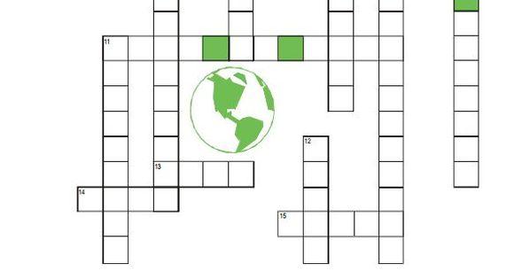 FREE Printable Elementary crossword puzzle Geothermal
