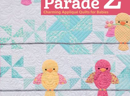Animal Parade 2 Charming Applique Quilts For Baby By