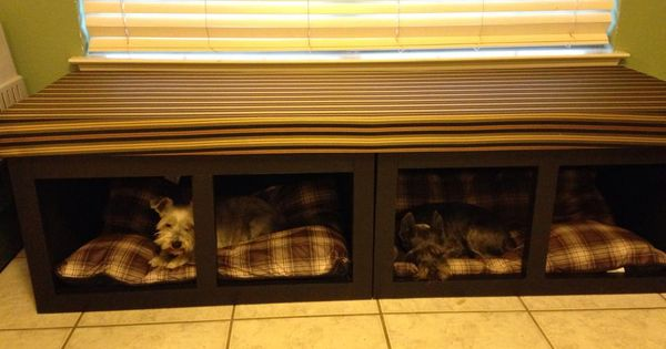 Dog Bed Window Seat Do It Yourself Home Projects From