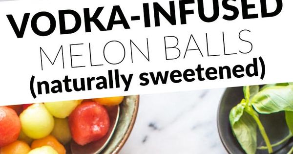 how to make melon balls drink