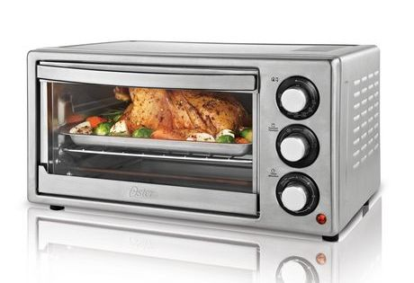 Oster 6 Slice Convection Toaster Oven Stainless Steel Oven Countertop Convection Oven Toaster