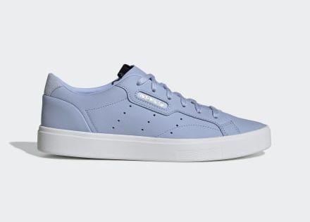 adidas Sleek Shoes   Blue adidas shoes, Blue adidas, Blue shoes