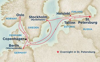 Scandinavia Russia Princess Cruise Scandinavian Cruises Baltic Cruise Last Minute Cruises