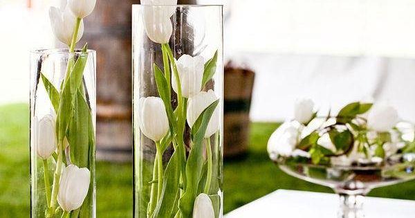 tulpen in gl sern dekoidee kommunion und konfirmation pinterest glas blumen und deko. Black Bedroom Furniture Sets. Home Design Ideas