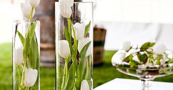 tulpen in gl sern dekoidee kommunion und konfirmation. Black Bedroom Furniture Sets. Home Design Ideas