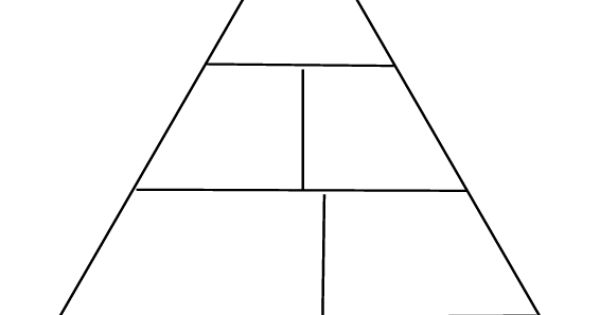 blank food pyramid - photo #11