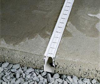 Concrete Patio With French Drain Plastic Drainage Systems Concrete Patio Yard Drainage Backyard Patio