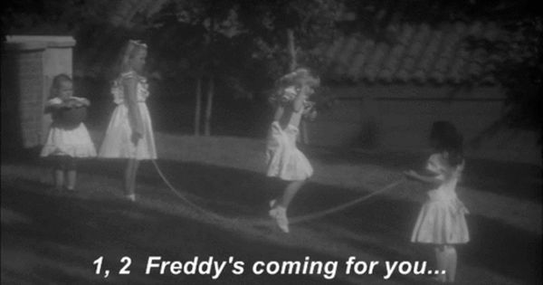 1 2 Freddy S Coming For U 3 4 Better Lock Your Door 5 6 Better Stay Up Late 9 10 Never Sleep Again Nightmare On Elm Street Best Horrors Horror